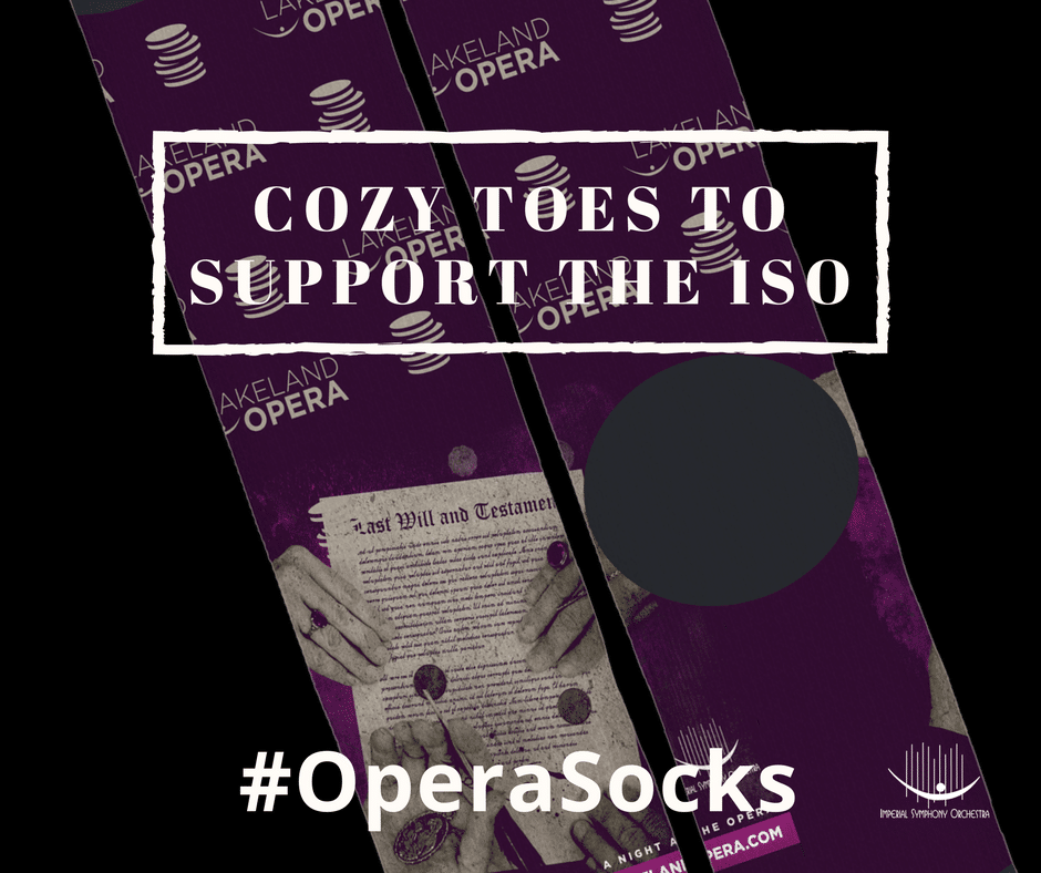 Limited Edition #OperaSocks to Support ISO Education Efforts