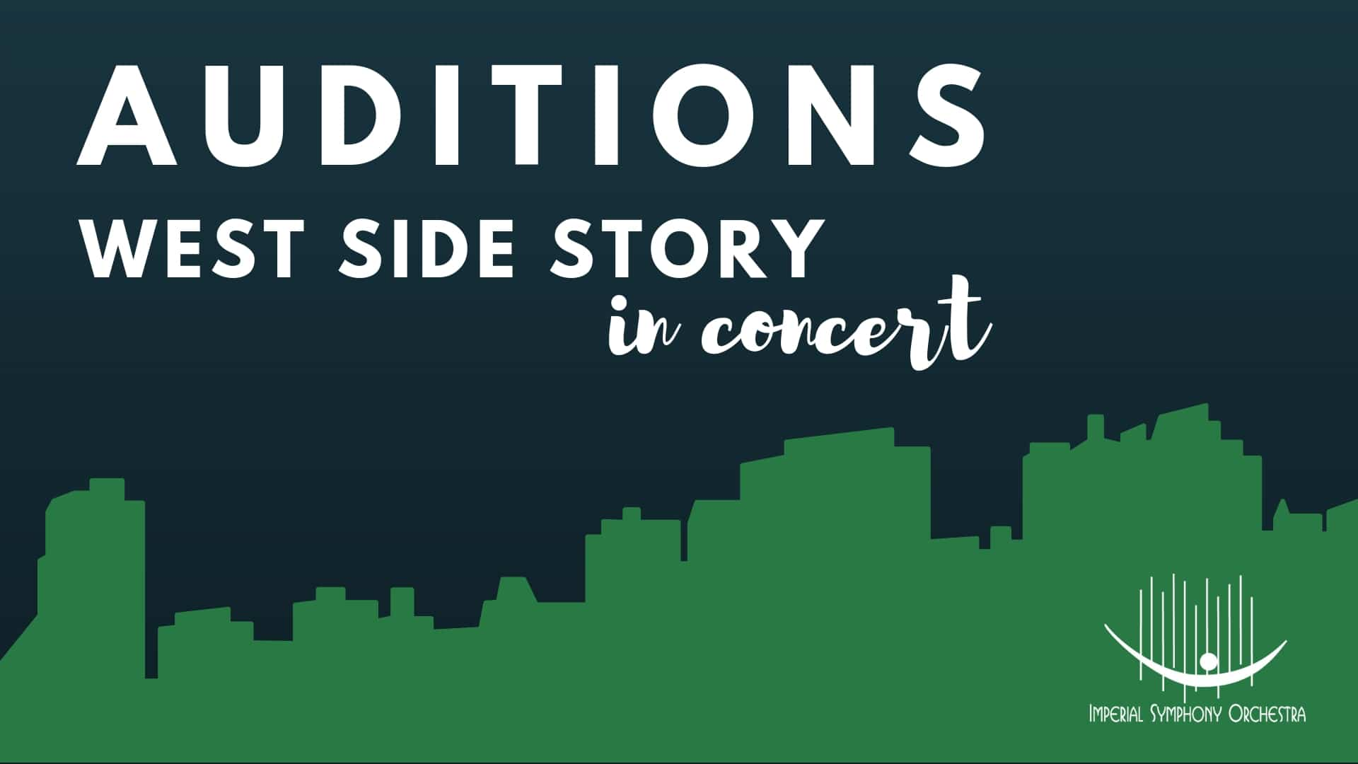 AUDITIONS: West Side Story in Concert