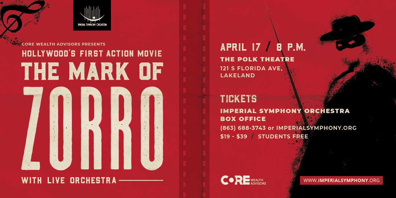 A poster image for The Mark of Zorro